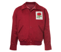 Bomberjacke mit Rosen-Patches