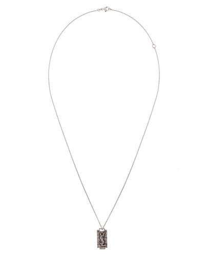 Halskette mit Rasierklingen-Anhänger