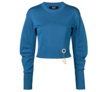 hardware mutton sleeve sweater