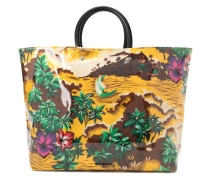 Shopper mit Hawaii-Print