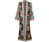 Blooming Bouquet print kimono