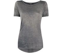 T-Shirt mit U-Ausschnitt