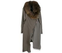 Mantel mit Wickelkragen