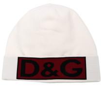 Mütze mit Intarsien-Logo