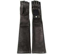Lange Biker-Handschuhe