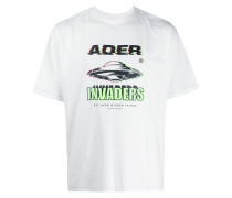 'Space' T-Shirt mit Print