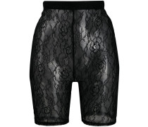 lace cycling shorts