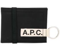 A.P.C. Portemonnaie mit Schlüsselring