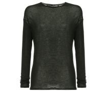 Semi-transparentes Langarmshirt
