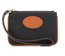 x Mulberry zip coin scotchgrain pouch