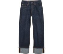 Jeans mit lässigem Schnitt