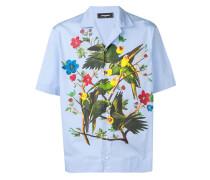Hemd mit Vogel-Print