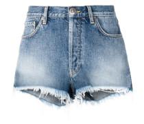Bestickte Jeansshorts