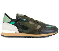 Garavani Sneakers mit Camouflage-Print
