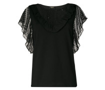 40s Glam lace blouse