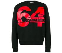 """Sweatshirt mit """"64""""-Logo"""
