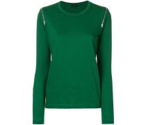 Pullover mit Reißverschlüssen