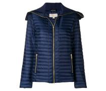 longsleeved puffer jacket
