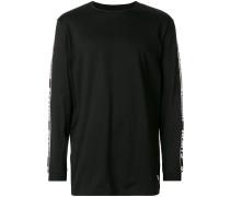 logo strap sweatshirt