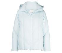 zipped padded jacket