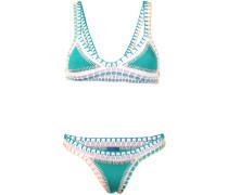 'Liv' Bikini mit gehäkelten Kanten