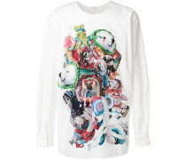 toy print reverse shirt