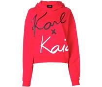 Karl x Kaia Cropped-Sweatshirt