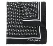 polka dot print pocket square