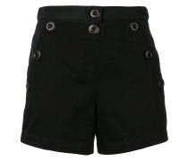 Kurze Shorts mit Knöpfen