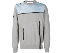 Pullover mit Reißverschlussdetails