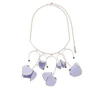Halskette mit floralen Anhänger