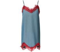 Kleid mit Spitzenborten