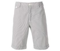 Chino-Shorts mit Nadelstreifen