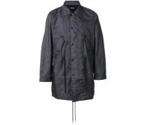 Mantel mit langem Schnitt