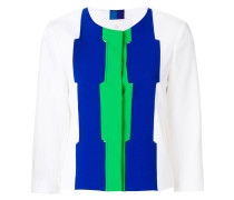 colour-block jacket