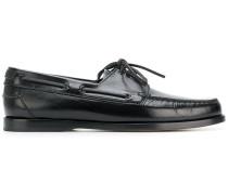 'Deck' Loafer mit Schnürung