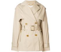 short trench coat
