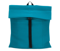 ribbed detail backpack