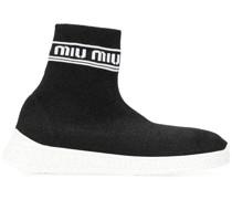 'Run' High-Top-Sneakers