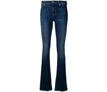 Bootcut-Jeans aus Baumwollgemisch