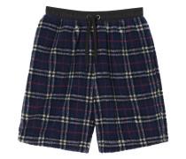 Shorts mit Vintage-Check