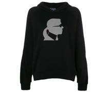 Ikonik Karl head hoodie