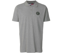 tiger foil logo polo shirt