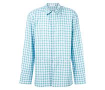 concealed pocket check shirt