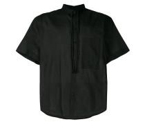 short-sleeve drawstring shirt