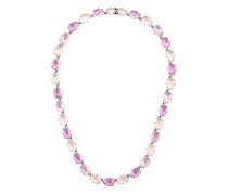Caterina multi magenta foil necklace