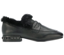 pyramid studs loafers