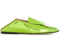 Loafer mit rechteckiger Kappe