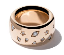 18kt 'Iconica' Rotgoldring