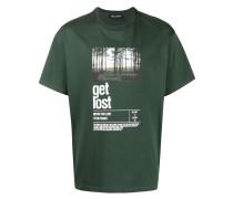 """T-Shirt mit """"Get lost""""-Print"""